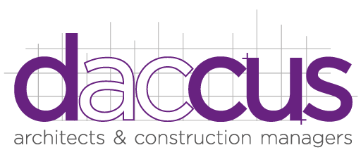 logo for Daccus architects in Frodsham